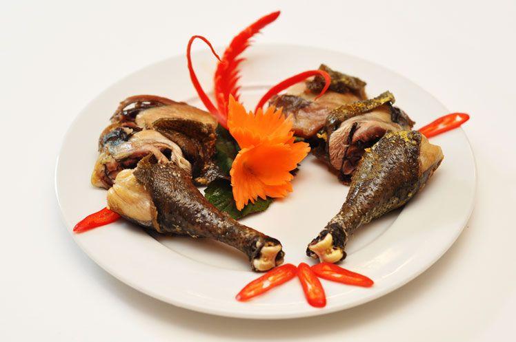 Kết quả hình ảnh cho các món từ gà h'mong