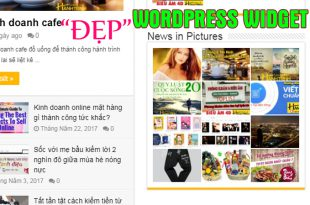 Widget đẹp cho Wordpress hay dùng nhất
