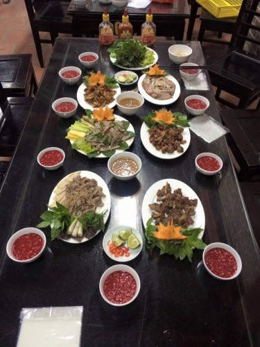 37 món khác nhau từ thịt dê tươi, sạch, an toàn