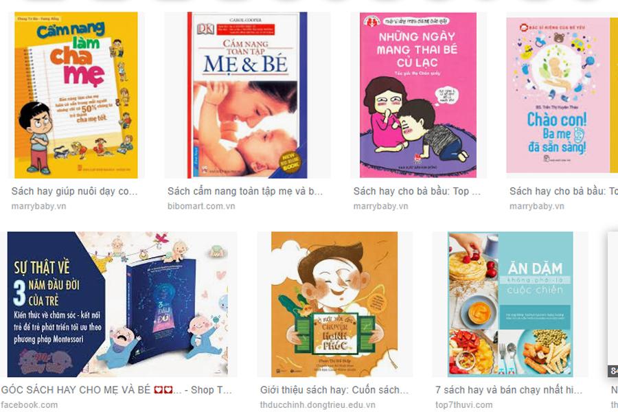 Top 7 sách hay về mẹ và bé mãi hữu ích