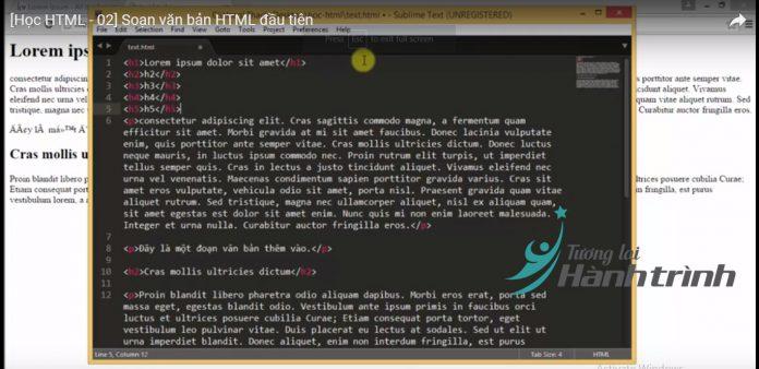 Code web HTML và CSS