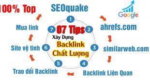 Cách xây dựng backlink cực chất lượng seo web tiết kiệm thời gian
