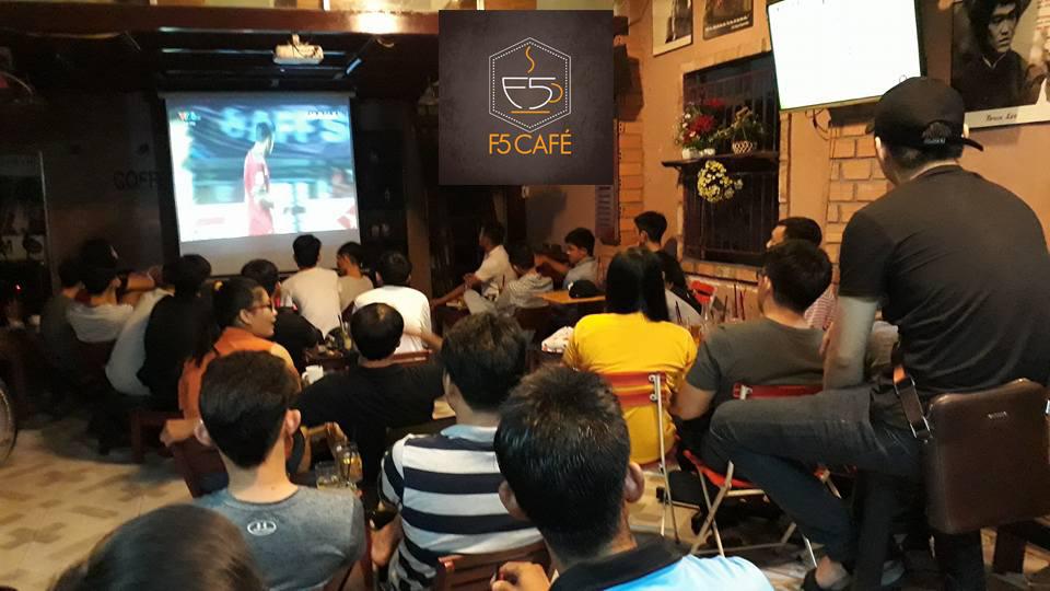 Toplist cafe bóng đá Sài Gòn