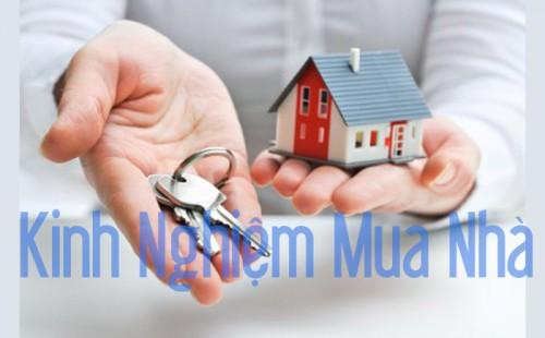 Kinh nghiệm mua nhà