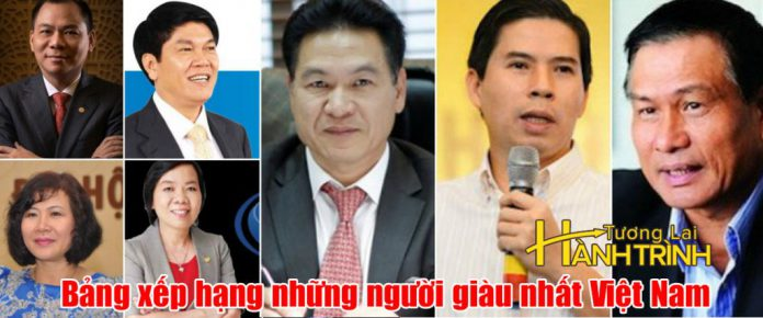 Bảng xếp hạng những người giàu nhất Việt Nam