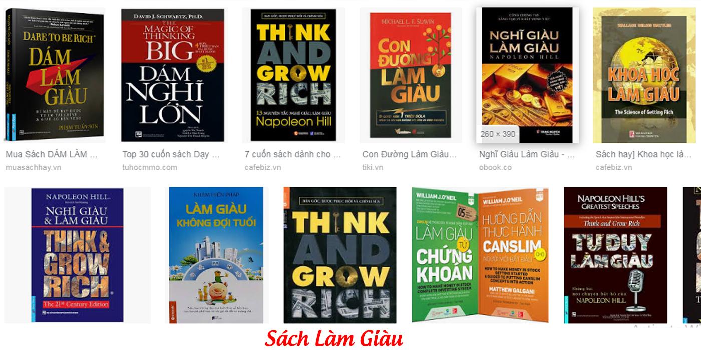 Những cuốn sách làm giàu hay nhất