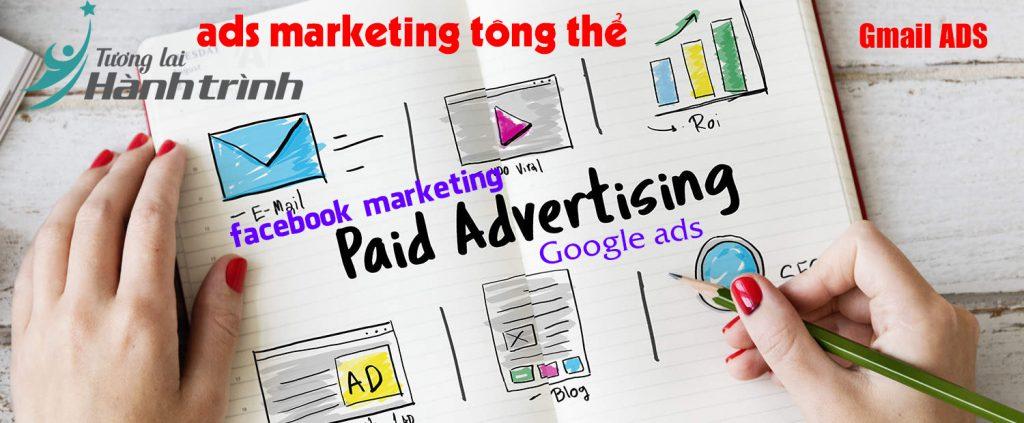 Quy trình hệ thống ads marketing tông thể