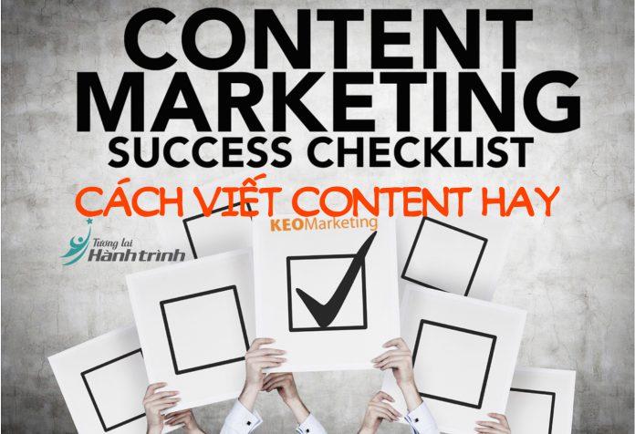 Cách viết content hay thu hút