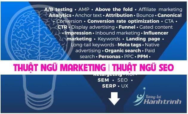 Các thuật ngữ trong marketing thuật ngữ seo